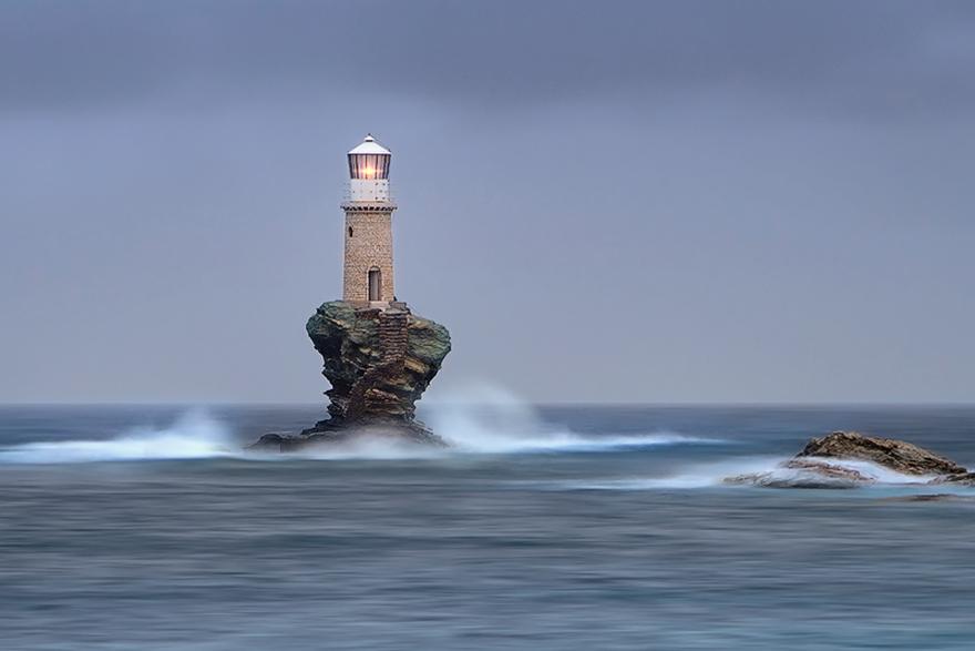 10.- Isla Andros, Grecia