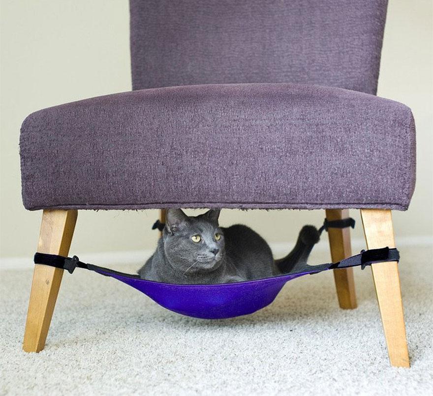 7.- Hamaca para gato